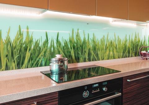 Frentes de vidrio para cocinas vidrosvazquez - Encimeras de cocina de cristal ...